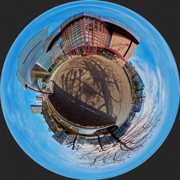 Little Planet DZ-Bank Frankfurt