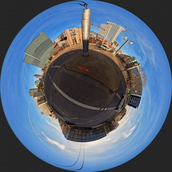 Little Planet Platz der Republick Frankfurt